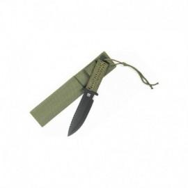 "101 Inc Military Paracord ""Survivor"" Knife Standard"