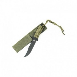 "101 Inc Military Paracord ""Survivor"" Knife Short"