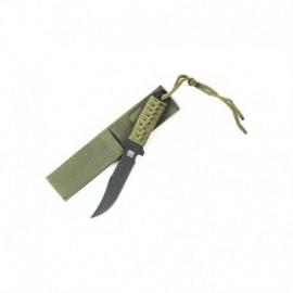 "101 Inc Military Paracord ""Survivor"" Knife Short"