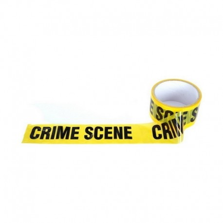 Warning Tape Crime Scene
