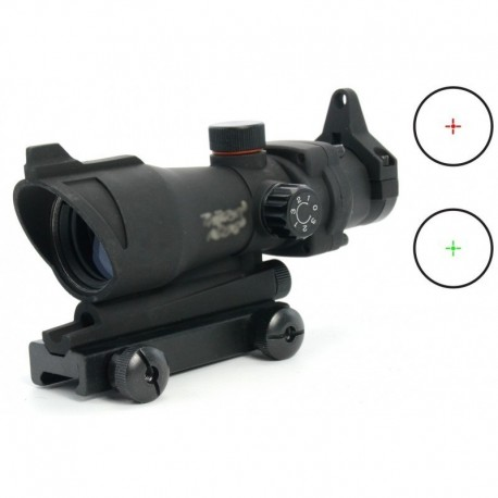TT ACOG style Red / Green Dot crossed