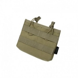 TMC Universal Doulbe  Mag Pouch Khaki
