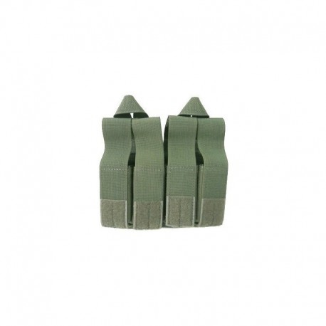 FLYYE M4 Double fast mag + quad pistol mag pouch OD Green