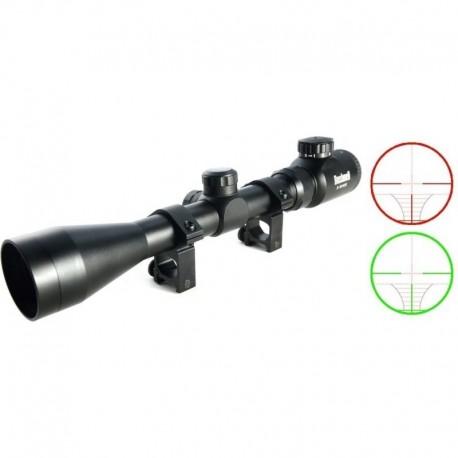 Bush Optics 3-9X40E sniper dot illuminated red / green