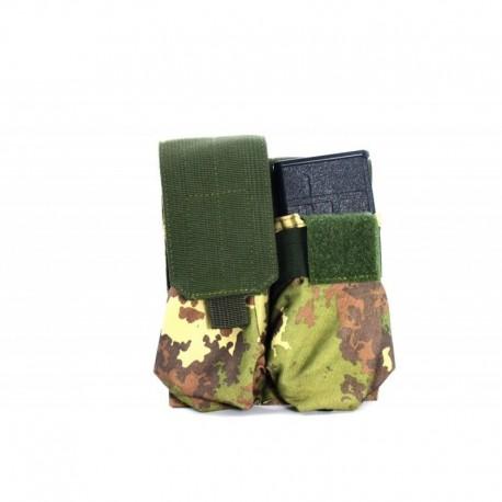 Royal Double M4/M16 mag pouch Italian Vegetato