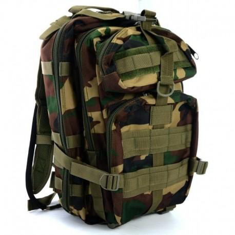 JS Tactical Zaino 35lt con vescica Woodland