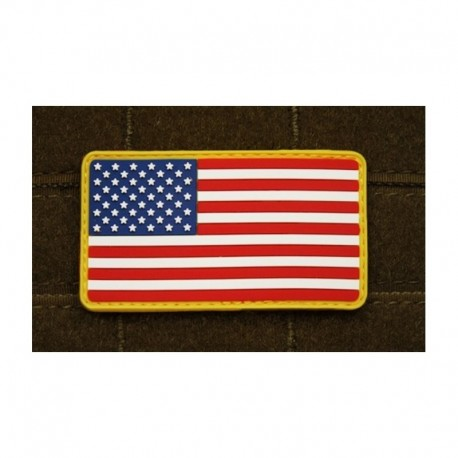 JTG US Flag Rubber Patch Full Colour
