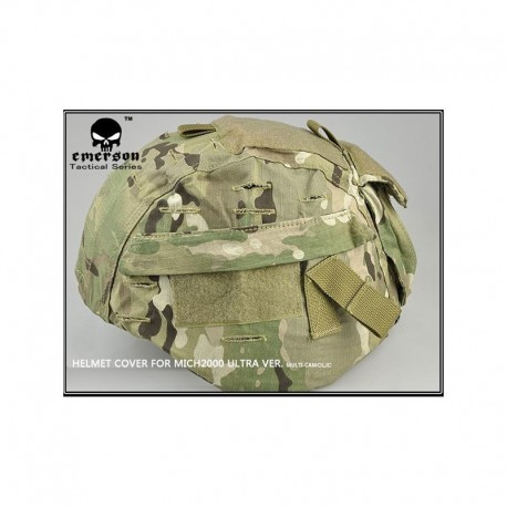 EMERSON Helmet Tactical Cover MICH2000  Multi-Camo