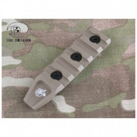 BD 5 Slots Rail Panel for KeyMod TAN