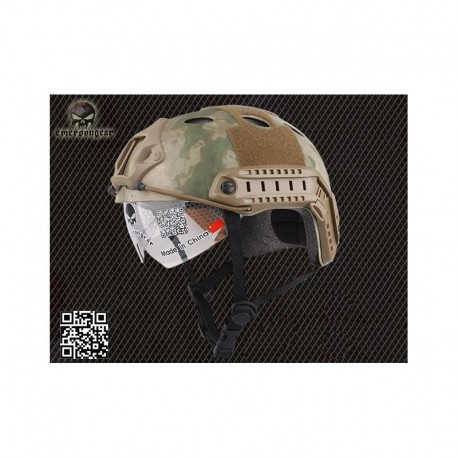 EMERSON FAST HELMET PJ A-T FG With Goggles