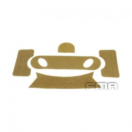 FMA PJ Velcro Stickers DE