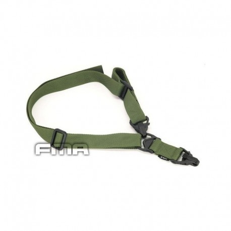 FMA MA3 Multi Mission Tactical Sling 1 - 2 points OD