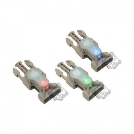 FMA S-Lite Mil-Spec Side Release Buckle Strobe Light DE