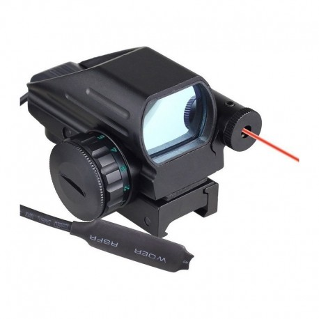 TT Reflex Red Dot multi reticle with laser