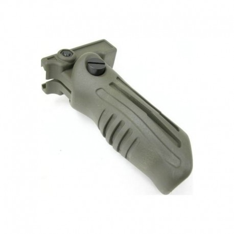 BRAVO Folding Grip for RIS / RAS OD Green