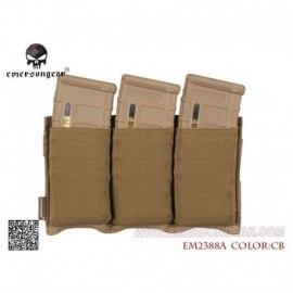 EMERSON Fast Universal Triple Mag Pouch CB