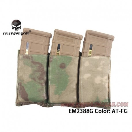 EMERSON Fast Universal Triple Mag Pouch A-T FG