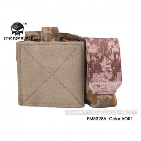EMERSON SAF Admin Panel MAP Pouch AOR1