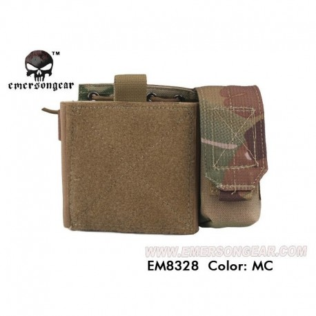 EMERSON SAF Admin Panel MAP Pouch Multi Camo