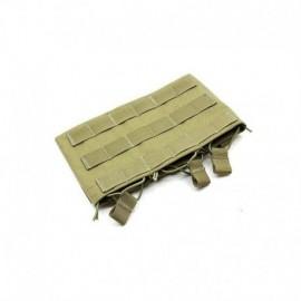 TMC M4 Triple wedge mag pouch khaki