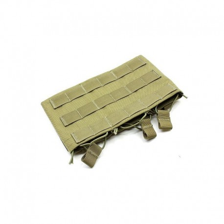 TMC M4 Triple wedge mag pouch khaki