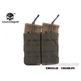 EMERSON Double Open Top Mag Pouch RG