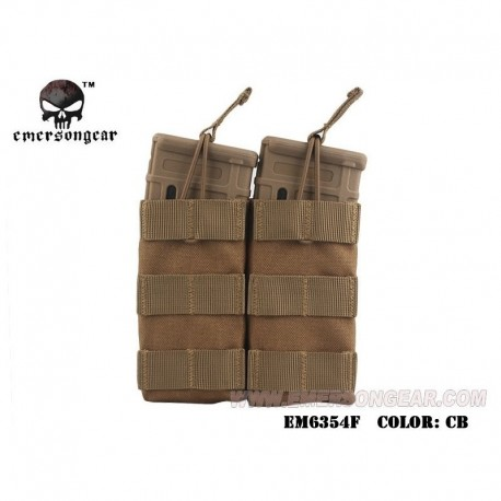 EMERSON Double Open Top Mag Pouch CB