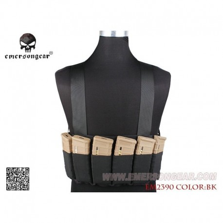 EMERSON SPEED Chest Rig Black