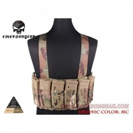 EMERSON SPEED Chest Rig Multi Camo
