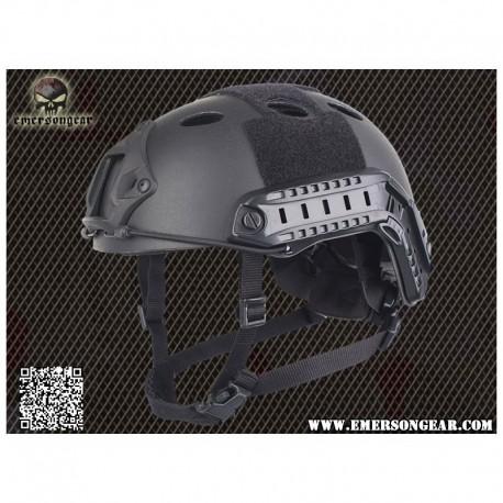 EMERSON FAST Helmet PJ CARBON Fiber Black