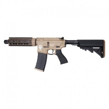 G&G M4 GR4 CQB-S MINI DST Plastic Blow Back Tan