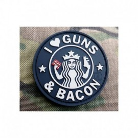 JTG Guns and Bacon Rubber Patch SWAT