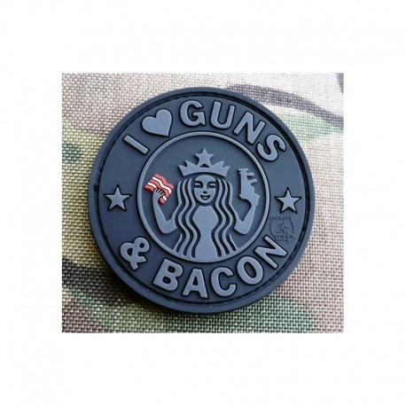 JTG Guns and Coffee Rubber Patch BlackOps