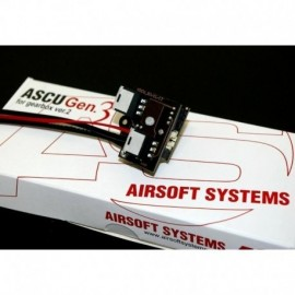 Airsoft Systems ASCU 3+ per Gearbox V2 + Hop Up ASHU in omaggio