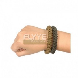 Flyye Bracciale Paracord Coyote Brown