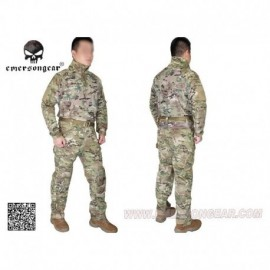 EMERSON Combat Tactical Suit RIOT Multi-camo