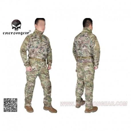 EMERSON Combat Tactical Suit RIOT Multi-camo