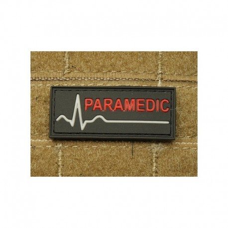JTG Paramedic Rubber Patch