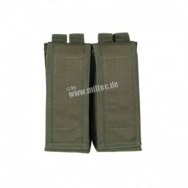 Mil-Tec AK Double Mag Pouch OD Green