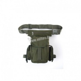 Mil-Tec multifunction Leg pouch OD Green