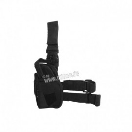 Mil-tec Left Leg Holster Black