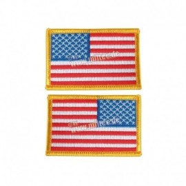 Mil-Tec Pair  US Flag Patch Full Colour