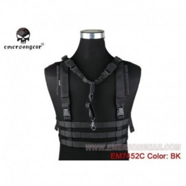 Emerson MOLLE Low Profile Chest Rig Black