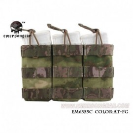 EMERSON TRIPLE OPEN TOP MAG POUCH FG