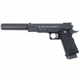 Cybergun COLT 1911 Rail Concept with silencer Full Metal