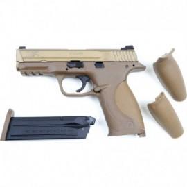 Cybergun Smith & Wesson M&P9 Tan Gas Blowback