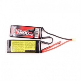A2A Swiss Arms Lipo11.1V 1500mAh 30C twin