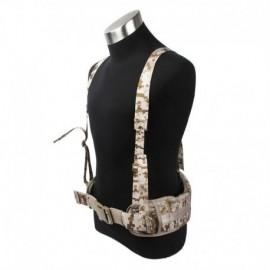 TMC MOLLE EG style MLCS Gen II Belt with suspenders AOR1