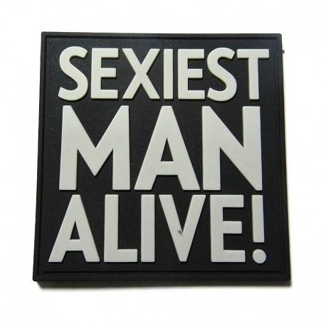 JTG Sexiest Man Alive Rubber Patch swat