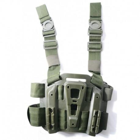 TANGO Tactical Piattaforma cosciale rigida per fondina OD Green